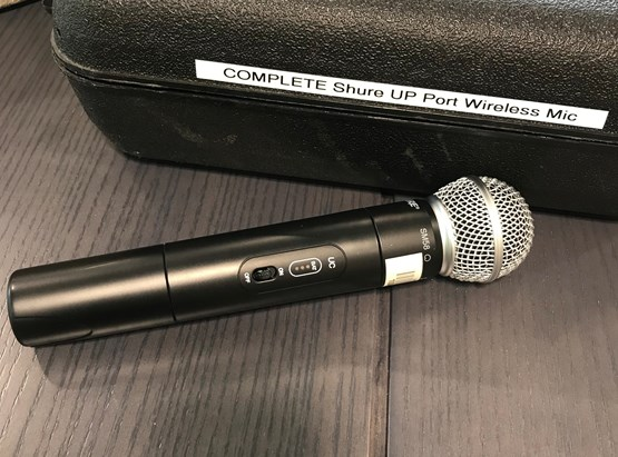 Shure UP Mic #1